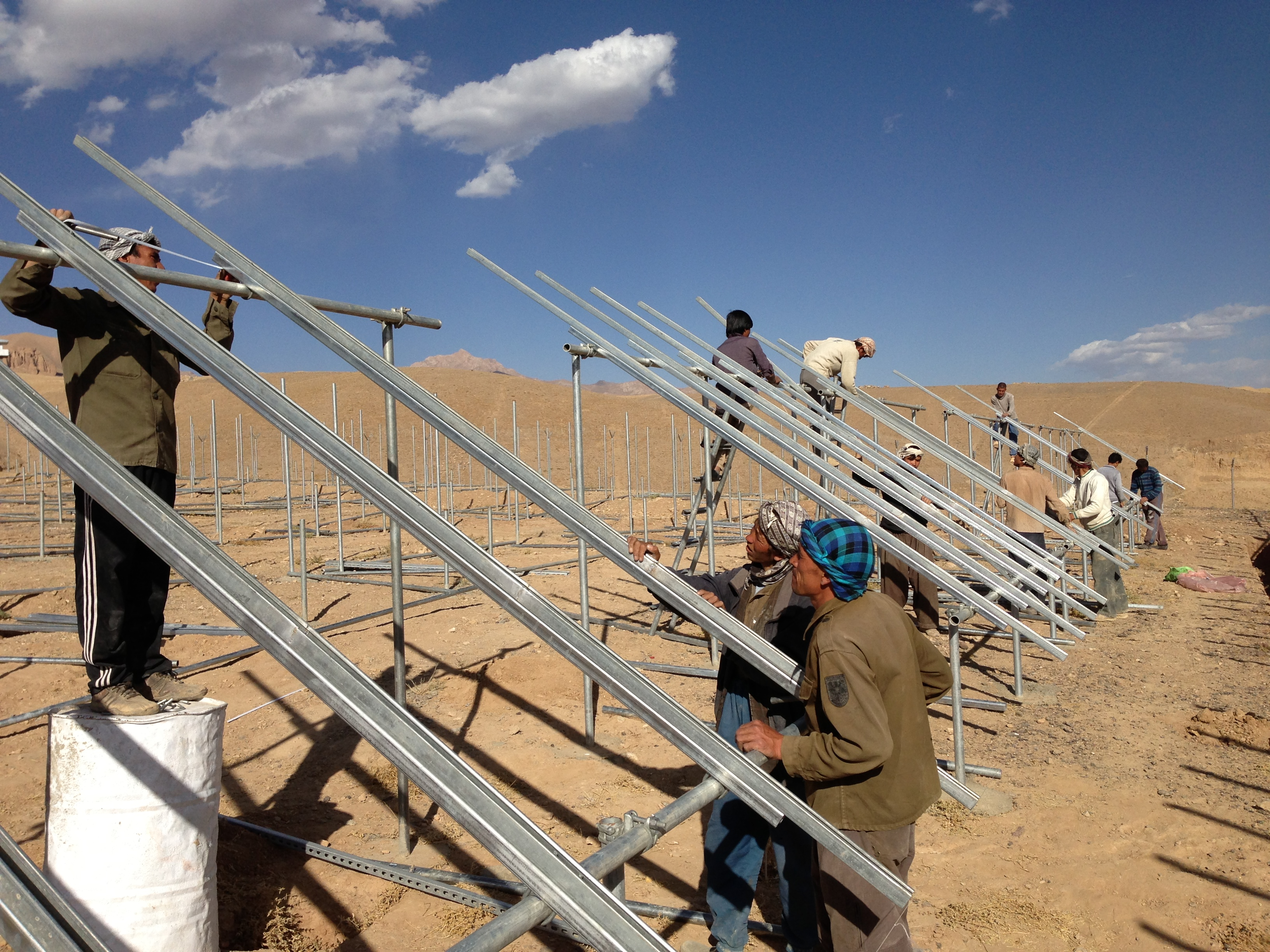 Afghanistan: Stand-alone PV grid system provides electricity for 2,500 ...