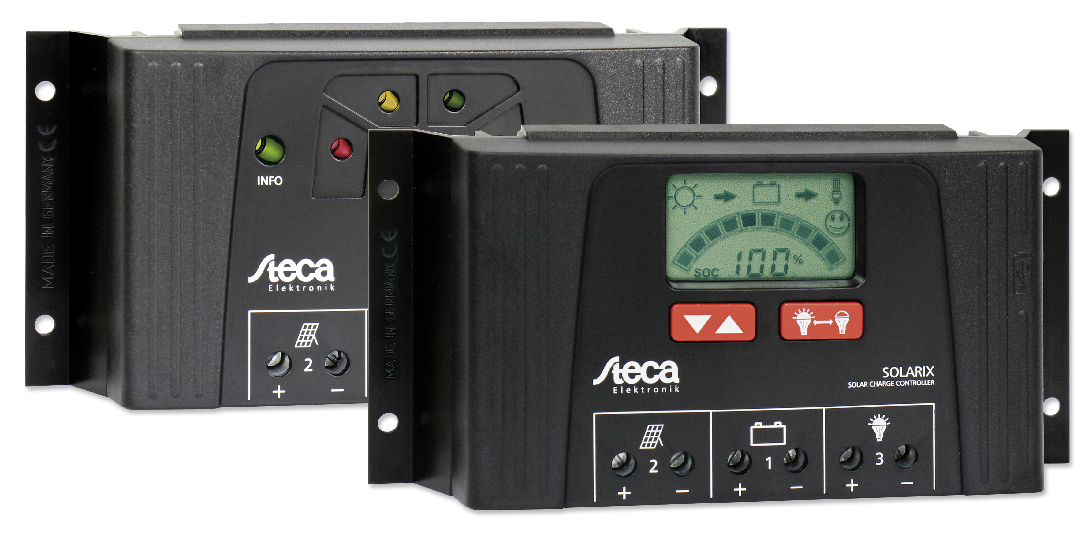 steca presents new pv controllers for off grid systems. Black Bedroom Furniture Sets. Home Design Ideas
