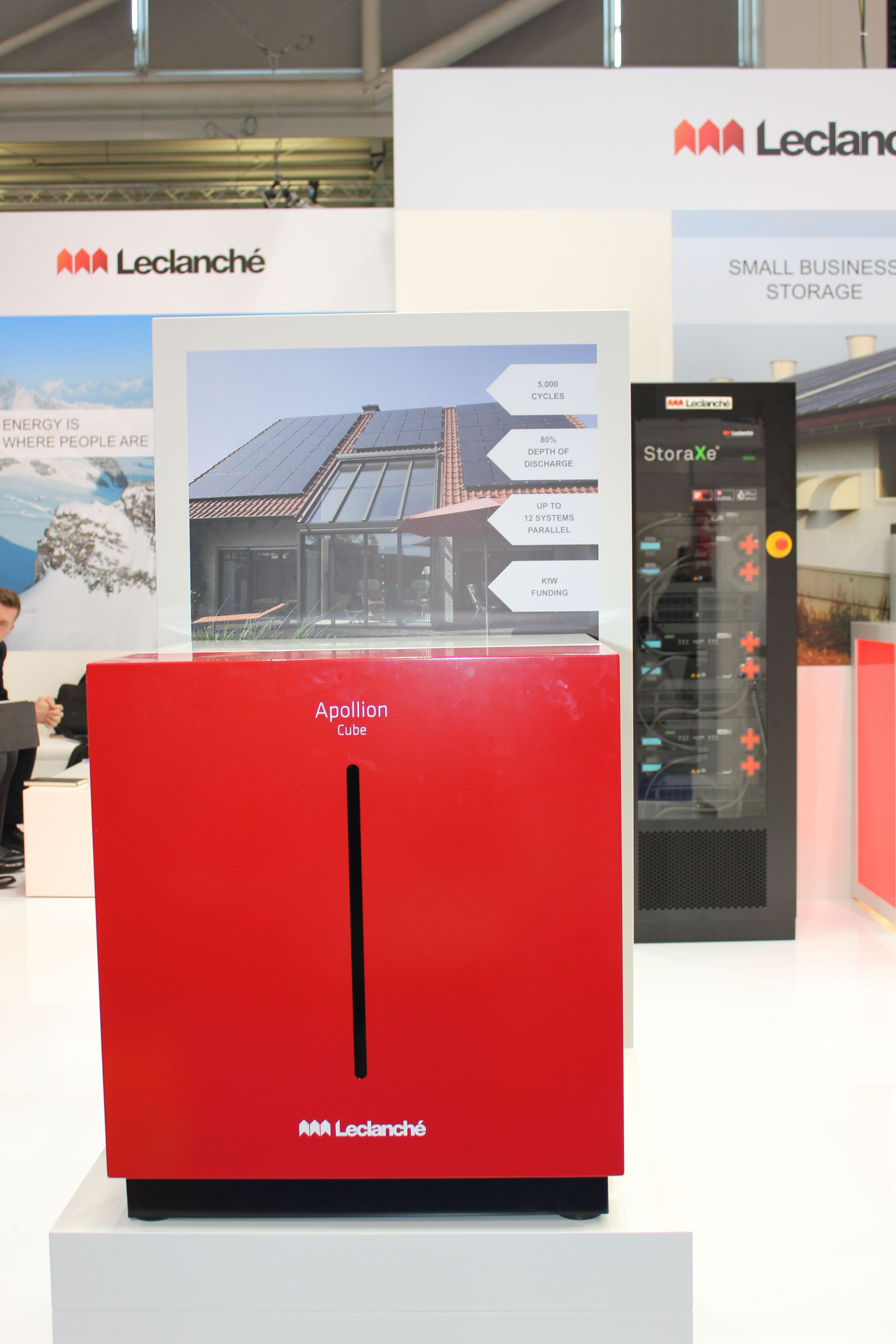 Leclanch 233 Is Supplying Storage Systems For The Grid In
