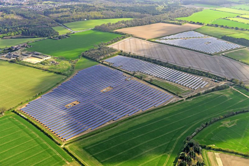 Uk S Renewable Strategy Hits Large Scale Solar Sun