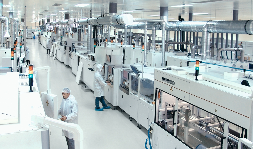 Fully Integrated Pv Manufacturing Facility In Iran Sun