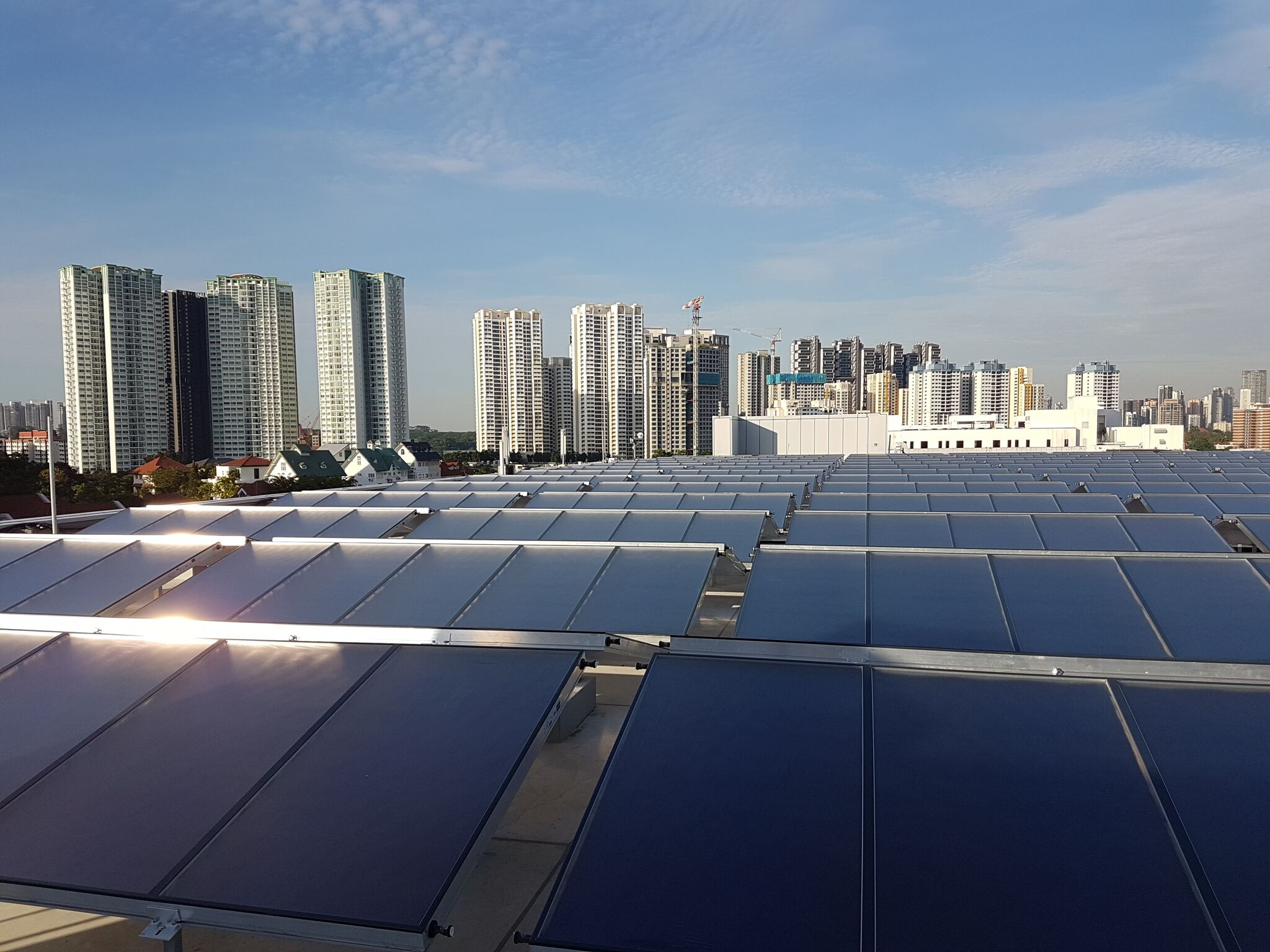 Global Market Data And Trends Increased Use Of Solar Heat