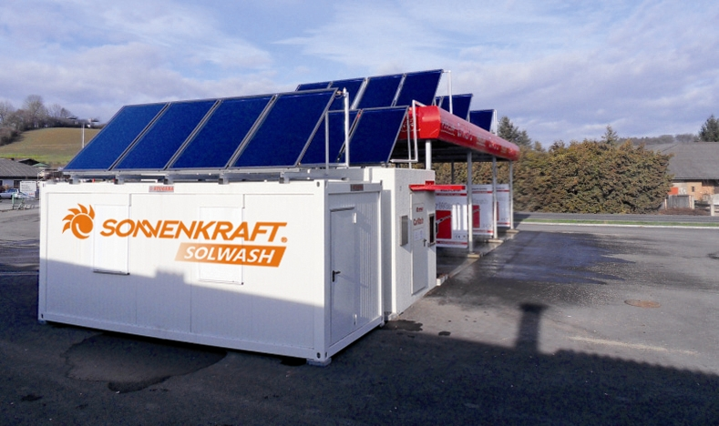 Sonnenkraft Is Selling Car Washes Sun Wind Energy