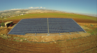In Deir el Ahmar, northern Lebanon, a PV system combined with a diesel generator supplies power to the irrigation system for a vegetable plantation. (Photo: Fronius International GmbH)