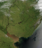 Uruguay wants to sixfold renewable energy by 2040 to 6,25 GW (Photo: By Jeff Schmaltz, MODIS Rapid Response Team, NASA/GSFC/Wikimedia Commons)