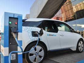 BMW i3 at charging station in Munich, Germany (Photo: iStock)