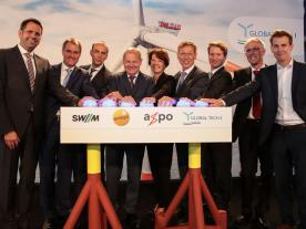 Joint kick-off:  Politicians and shareholders inaugurated Global Tech I together. (Photo: Global Tech I)