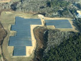 The Rockwell Solar Farm in North Carolina. (Photo: SMA America)