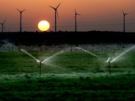 Wind power in India, which will be one of the emerging markets in the next few years.