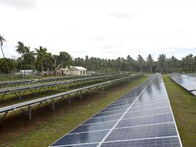 The PV / diesel hybrid system with SMA Fuel Save Solution will reduce dependence on fossil fuels on the island of Vava'u.