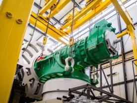 The AD 8-180 drive train faces a comprehensive test programme. (Photo: Adwen)