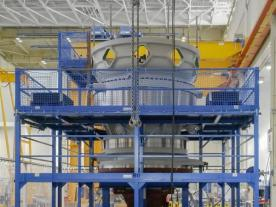 Adwen and Winergy developed the world largest gearbox so far exclusively for the Adwen 8 MW ASD 8-180 wind turbine. (Photo: Adwen)