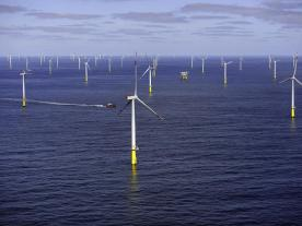 WIth an installed capacity of 582 MW the two offshore wind parks Gode Wind 1 and 2 are expected to produce enough power do supply 600,000 german households with clean Energy. (Photo: DONG Energy)