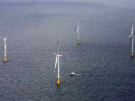 The development of offshore wind energy pays off in the long run.