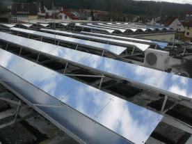 As the pilot phase shows, the patented innovation developed by plusAmpere has enormous potential: The use of the innovative reflector and calculation system improves the worldwide yields of photovoltaic facilities (PV facilities), making them more profitable and cost-efficient (pict. plusAmpere)