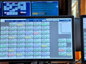 The PI system used by Juwi to monitor its renewable energy parks. (Photo: Juwi)