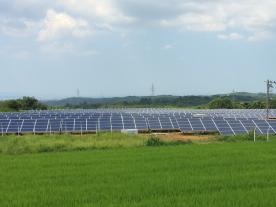 This solar plant in the is part of the sale transaction. (Photo: IBC Solar)