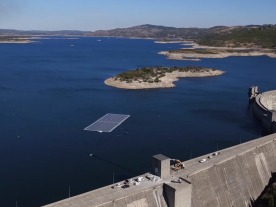 The power output of the FPV plant on Alto Rabagão is equivalent to the annual consumption of around 100 homes. (Photo: EDP Group)