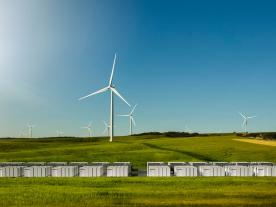The grid scale energy storage project will help solve power shortages, reduce intermittencies and manage summertime peak load to improve the reliability of South Australia's electrical infrastructure. (Photo: Tesla)