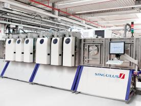 Singulus Technologies AG signed two precontracts for the delivery of production machines for CIGS thin-film modules for China. (Photo: Singulus Technologies AG)