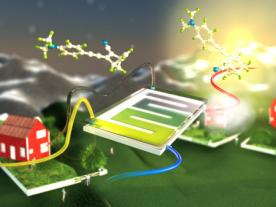 The molecular solar thermal system developed in Sweden (graphic: Chalmers University of Technology, Sweden)