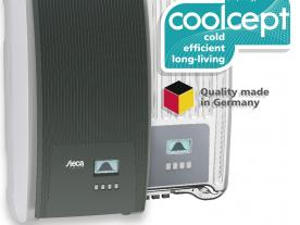The efficient coolcept inverter family now comes with numerous smart functions. (Photo: Steca)