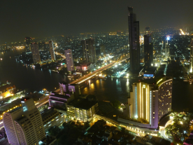 The energy demand in Thailand is rising rapidly - while the country's power plants need to be replaced. (Photo of Bangkok: Pixabay/derstiefel)