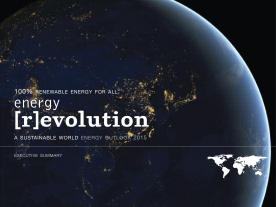 Greenpeace International and the Global Wind Energy Council have released the Energy [R]evolution 2015 report. (Graphic: Greenpeace)