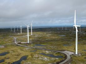 When Statkraft put Smøla windfarm into operation in 2002, the conditions appeared to be right. Meanwhile wind power projects in Norway are no longer economical, the company says. (Photo: Statkraft)