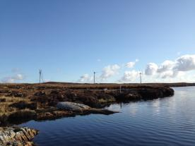With three 3 MW turbines Beinn Ghrideag wind farm on the Isle of Lewis is UK's largest community owned wind farm. (Photo: SgurrEnergy)