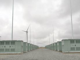 "The ""big battery"" near Jamestown, South Australia. Photo: Tony Lewis/InDaily"