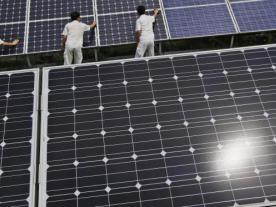 The solar industry is fighting about module prices. (Photo: dpa)