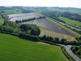Martifer photovoltaic plant in south-western UK. (Photo: Martifer Solar)