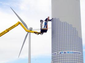 The wind turbine transaction facilitated by the Windcentrale raised € 1.3 mill
