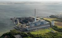 The Studstrup Power Station is located northeast of Aarhuse. (Photo: DONG Energy)