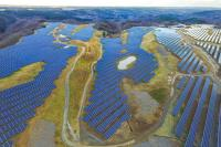 The 25 MW solar park on the former Iwate Hirono Golf Course (Photo: Juwi Shizen Energy)
