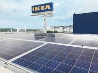 ABB's next generation smart inverters will provide higher flexibility and energy yields from IKEA's 1 MW rooftop PV system. (Photo: ABB Solar)