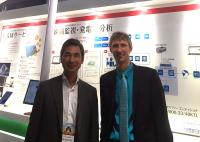 Yoshitaka Santoki (Suntech Japan) and Martin Schneider (meteocontrol) intensify their cooperation with the newly formed joint venture in Japan. (Photo: meteocontrol)
