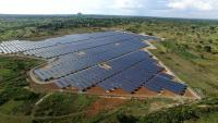 Aerial view of East Africa's largest PV power plant in Uganda (Photo: Access Power)