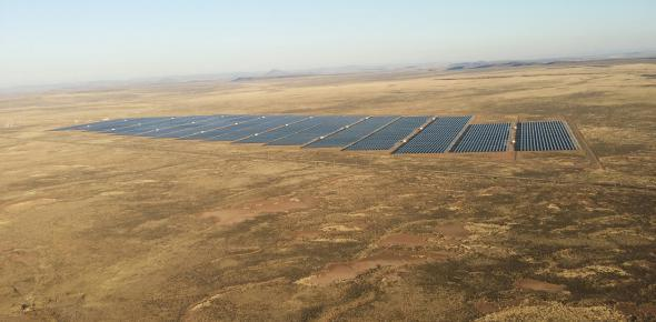 The Linde PV plant in South Africa with SMA-inverters.
