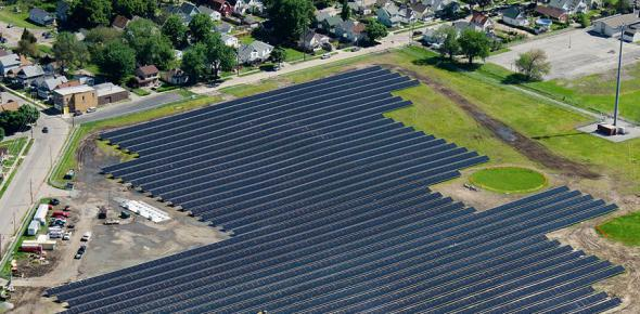 The new solar plant in Toledo provides power for the local zoo.