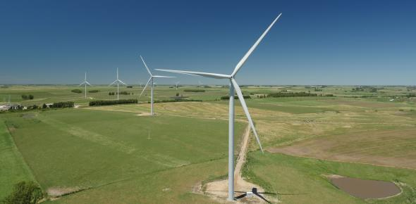 Wind turbines of the type N117 in Uruguay. (Photo: Nordex SE)