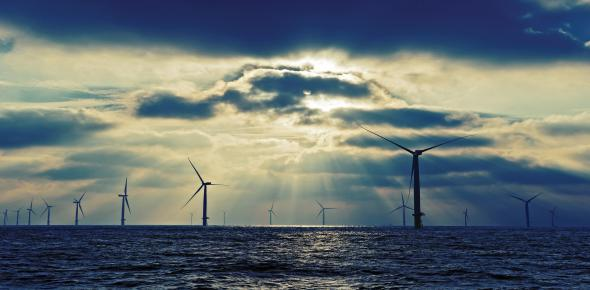 The British offshore wind farm London Array will not be expanded. (Photo: London Array)