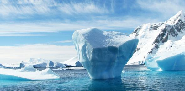 Many glaciers in Antarctica are melting much too quickly.